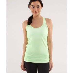 Lululemon Cool Racerback Tank Petit Dot Faded Zap